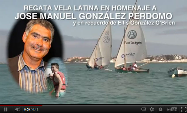 Regata Vela Latina en homenaje a José M. González Perdomo