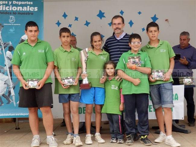 Resultados y clasificaciones de la Liga Interinsular Bola Canaria