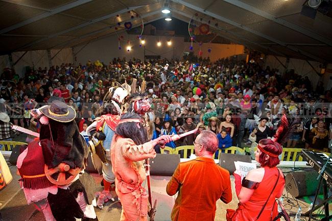 """Los vecinos de Antigua eligen  """"El Mundo Olímpico"""" como alegoría del Carnaval 2014"""