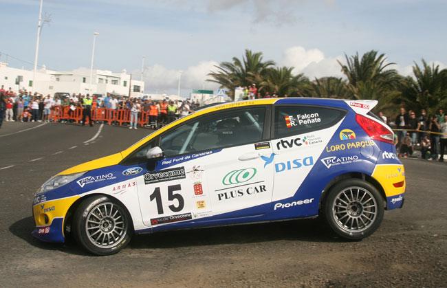 E. Falcón-R. Peñate (DISA-Ford Fiesta R2) cierran un año espectacular