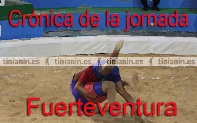 Crónica de la 9ª jornada de lucha canaria de Fuerteventura