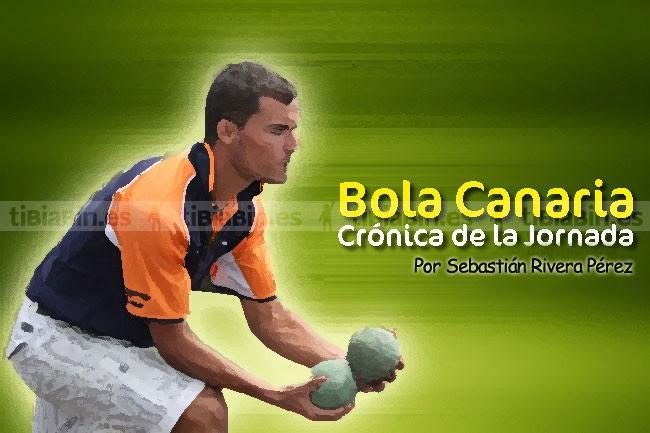 Crónica y Resultados de la jornada de Bola Canaria