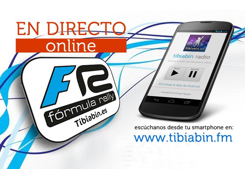 Escucha Fórmula Rally en directo desde tu smartphone
