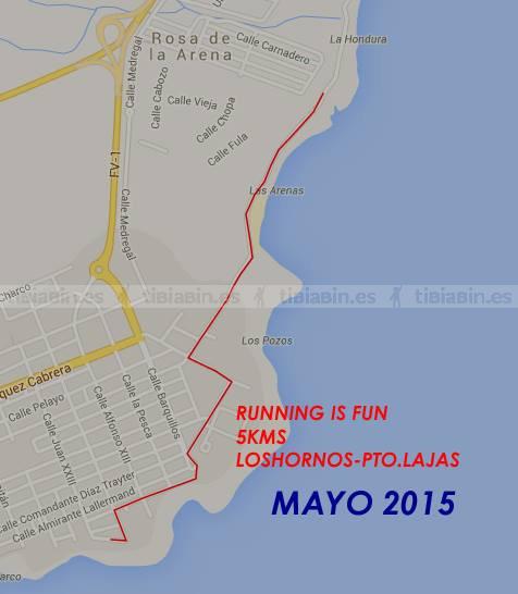 """II Carrera Popular """" Los Hornos-Puerto Lajas"""""""