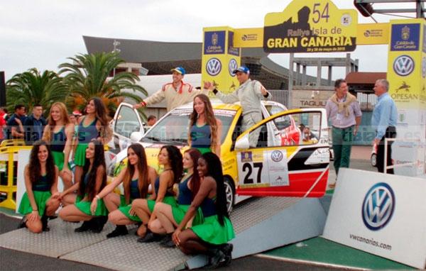 Tercera entrega de la Challenge BP-Michelín con la disputa del 40 Rallye de Telde
