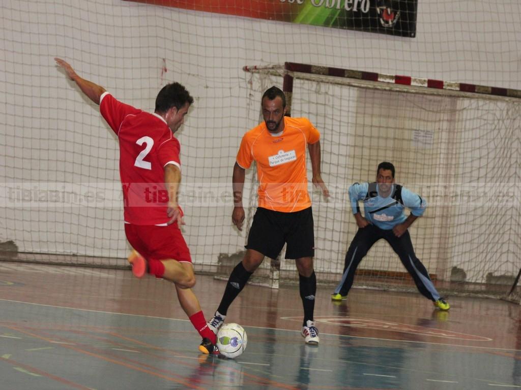 Semifinales del VI Torneo Futbol Sala Veterano