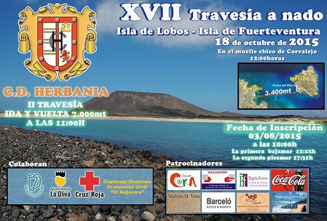 XVII Travesía a nado Isla de Lobos-Isla de Fuerteventura