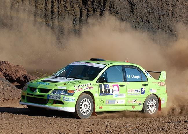 El Rallye de La Oliva, siguiente parada para Víctor Fránquiz y José María Umpiérrez