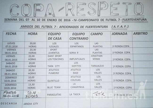 Copa-Respeto Amigos del Fútbol 7