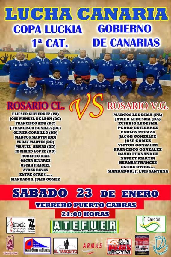 Cartel Rosario C.L. – Rosario V.G.