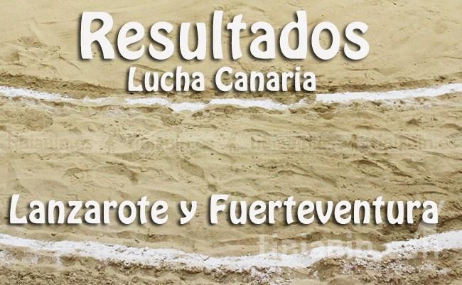 Resultados Lucha Canaria (Lanzarote y Fuerteventura)