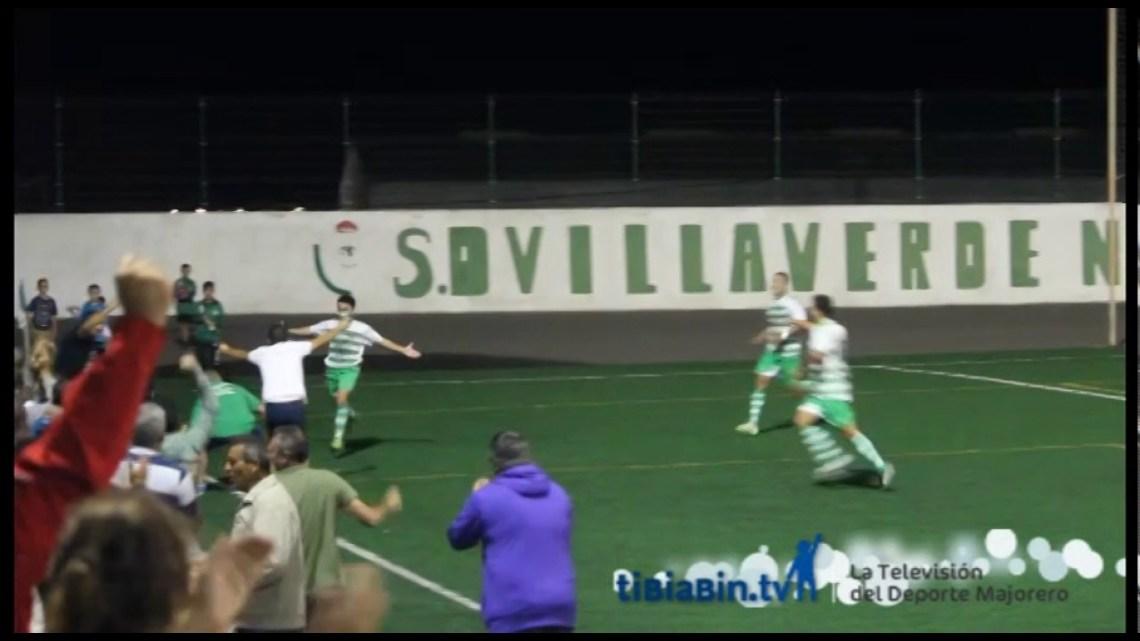 Goles Villaverde 3 – Jandía 2