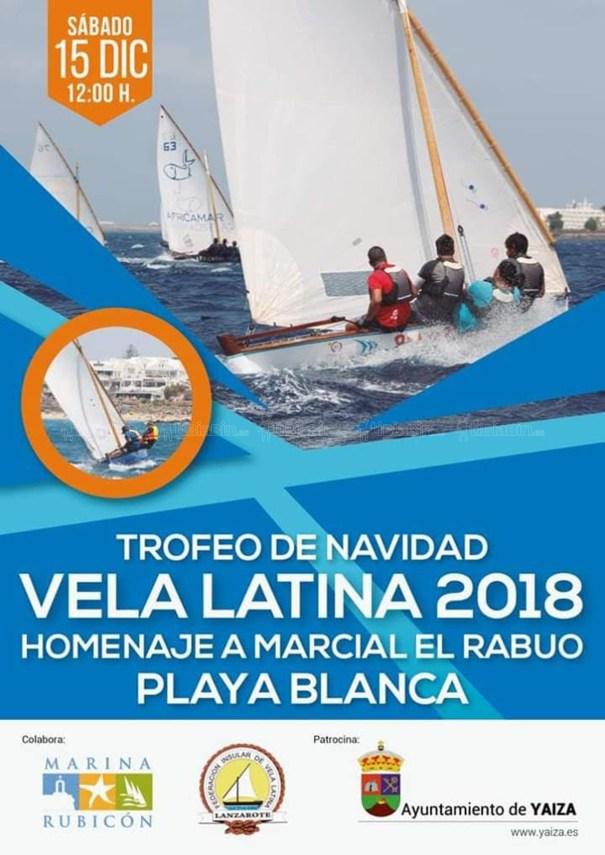 Cartel Trofeo de Navidad Vela Latina 2018
