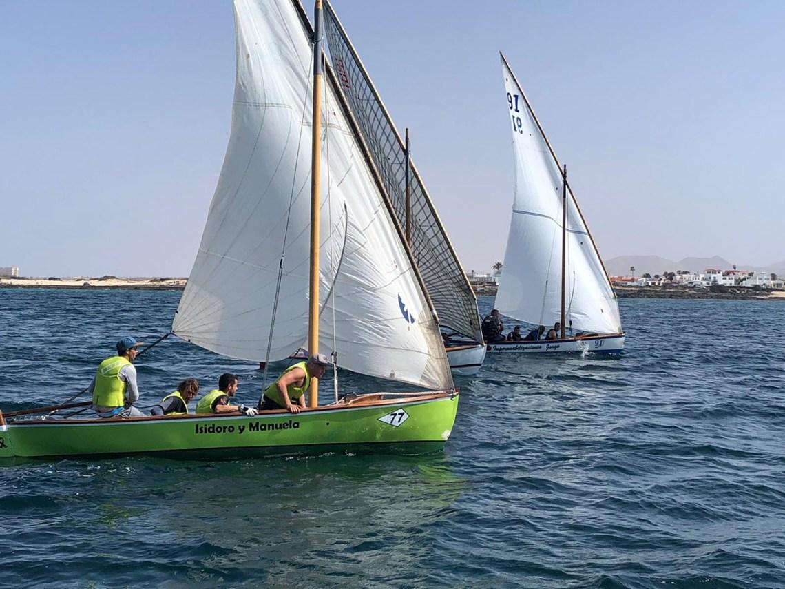 El Isidoro y Manuela III – Di Napoli vence en la primera regata de la Liga Insular de Barquillos de Fuerteventura