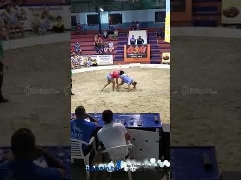 Vídeo enfrentamientos Miguel Hernández frente a Arasahi Tejera y Cristo Hernández