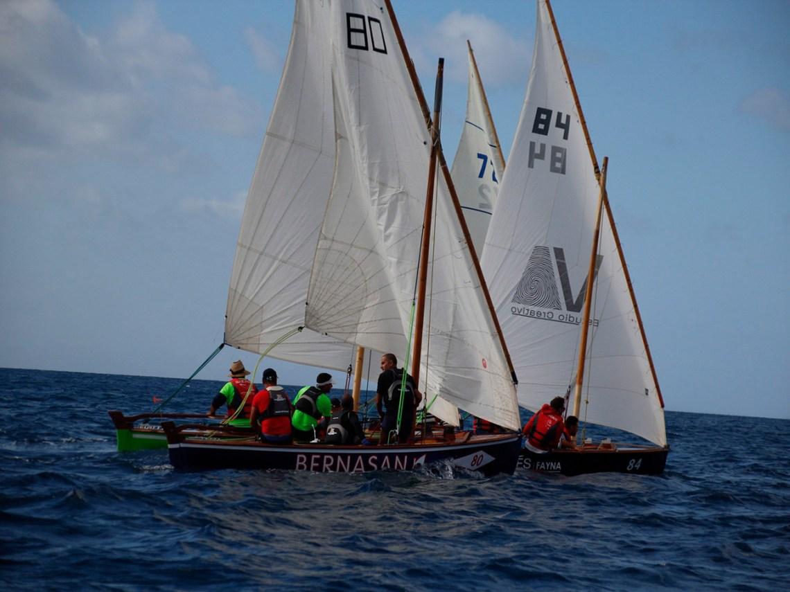 Los barquillos de 5 metros de Lanzarote regresan a la competición