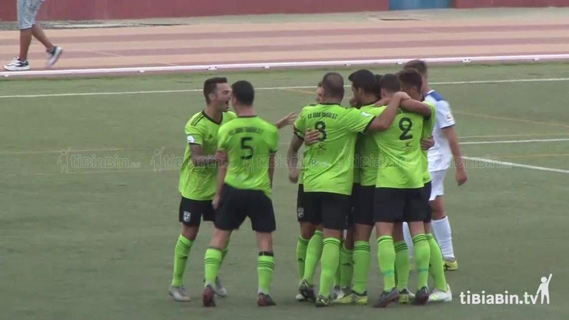 Vídeo goles Gran Tarajal 5 – Tenisca 0