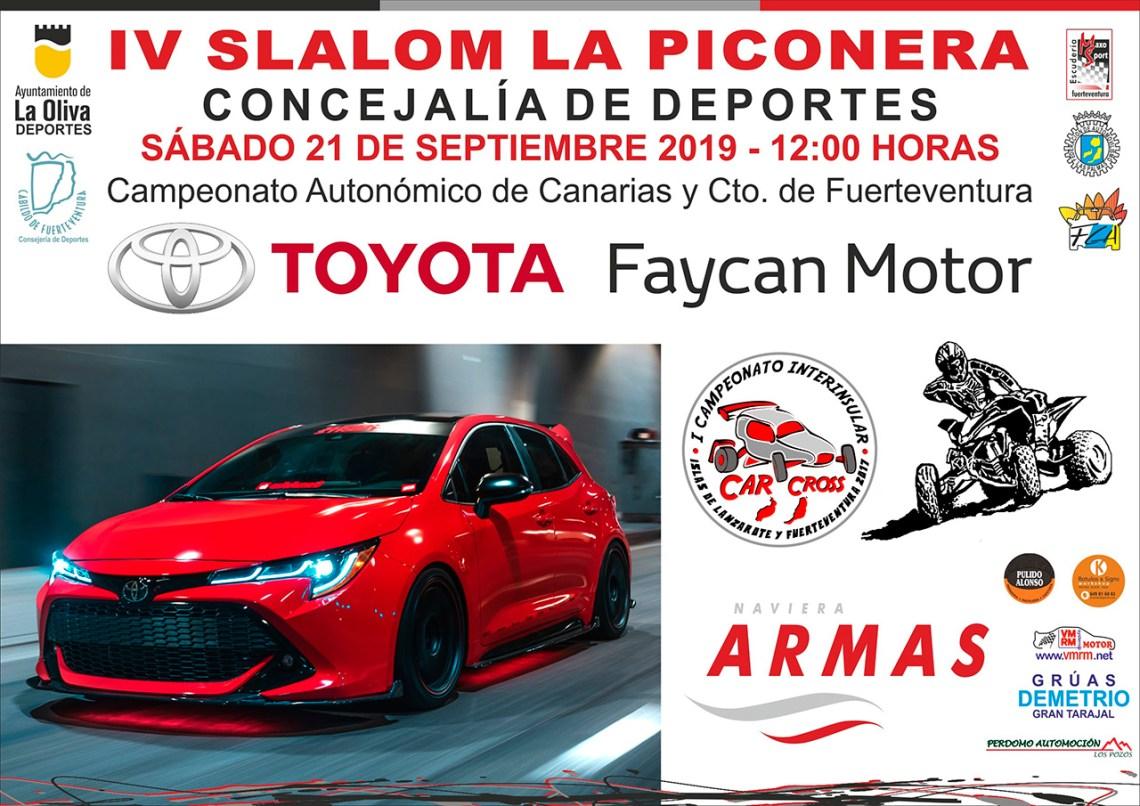 El IV Slalom de La Piconera se celebra este sábado 21 de septiembre con Parque Cerrado en Corralejo, en la zona de Panorama Tres Islas