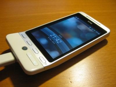 HTC Hero après réparation