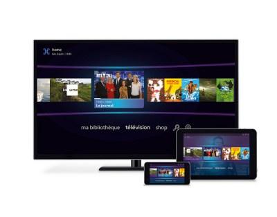 Nouvelle interface Decodeur Proximus TV