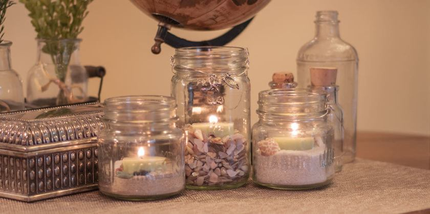 do it yourself mason jar candles