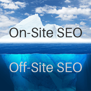 On-site SEO, Off-site SEO