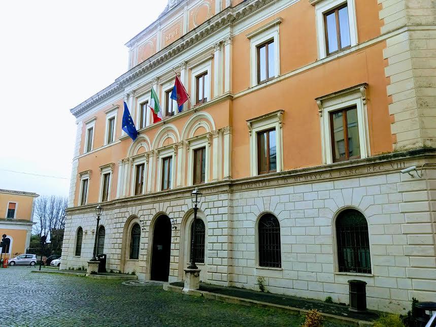 Il comune di Tivoli, palazzo San Bernardino