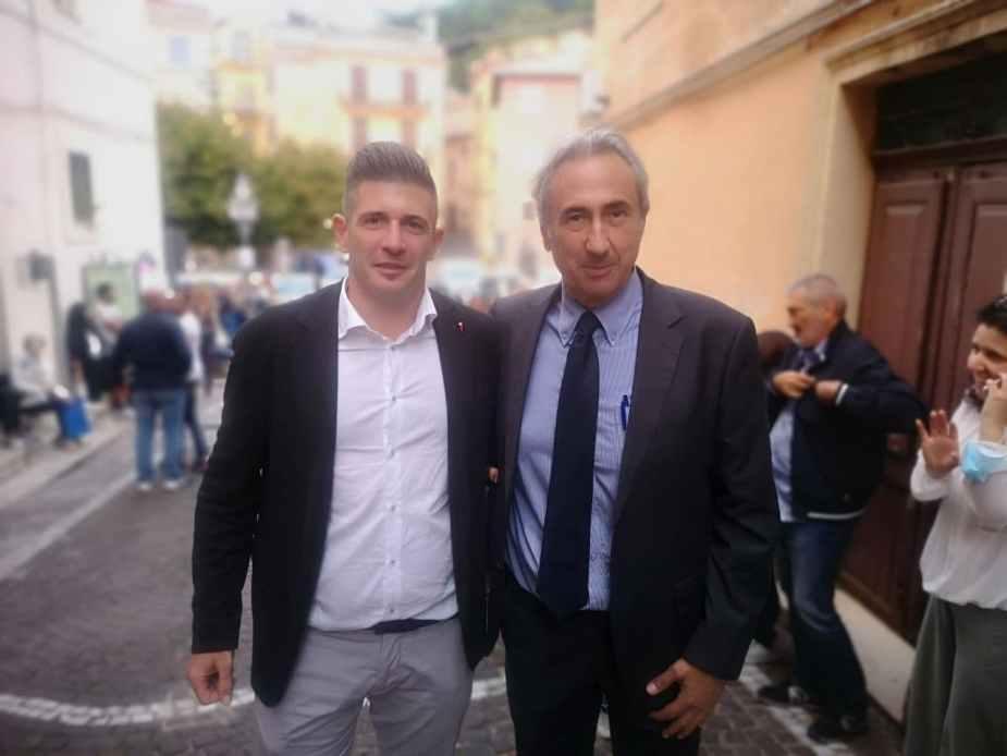 La festa a San Polo dei Cavalieri dopo le elezioni con Simone Mozzetta e Paolo Salvatori