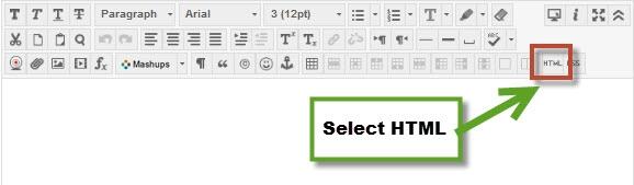HTML Button