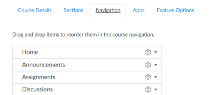 Canvas Navigation