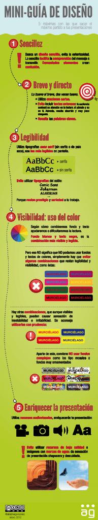 Guía de diseño gráfico para presentaciones