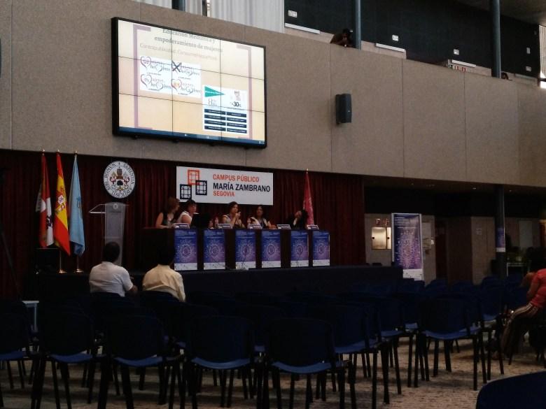 Sesión plenaria: situación actual de la educación mediática desde una perspectiva feminista