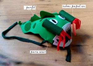 Disfraz Dragón DIY