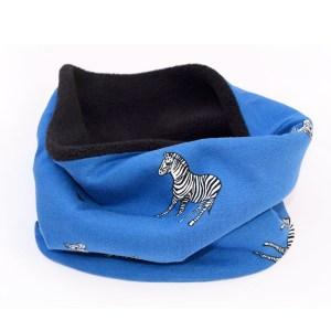 Cuello polar Zebras, reversible y suave.