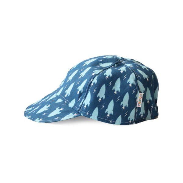 Gorra con visera ideal para proteger del sol. Con divertido estampado y sujeción con velcro.