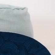Gorro reversible tipo pescador ideal para proteger del sol a lxs niñxs