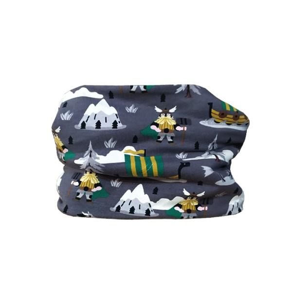 Cuello polar de vikingos, ideal para proteger del frío a los peques en invierno