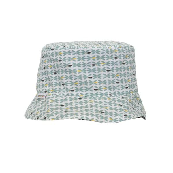 Gorro reversible tipo pescador, con original estampado ideal para proteger del sol a pequeños
