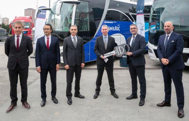 MAN ve Kamil Koç'un 'Yol Arkadaşlığı' 2021'de de güçlenerek sürüyor.