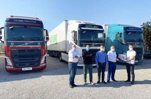 Güleç Transport, Volvo FH çekicilerlefilosuna güç kattı