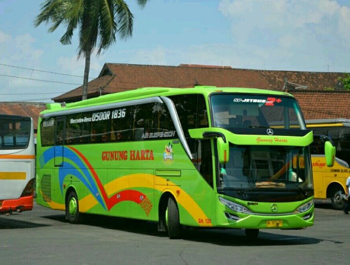 Agen Tiket Bus Gunung Harta