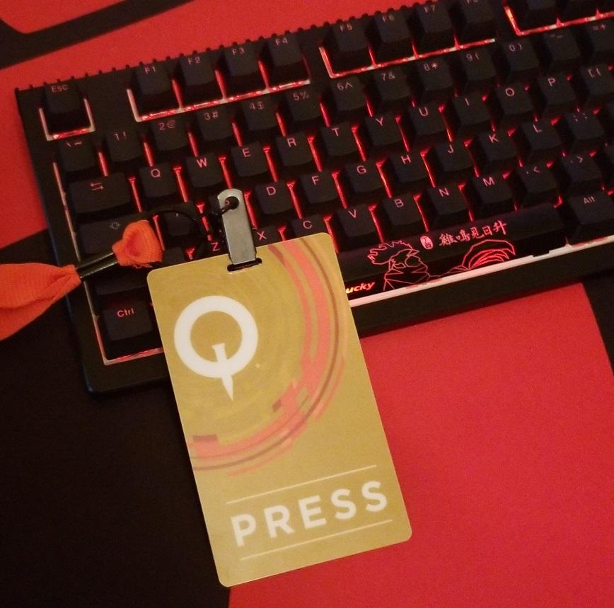 QuakeCon 2018, Quake, Convention, Press, Media, Badge, Pass