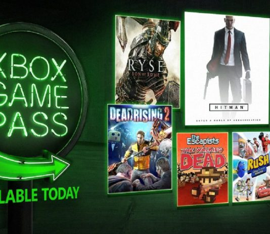 August 2018 Xbox Game Pass
