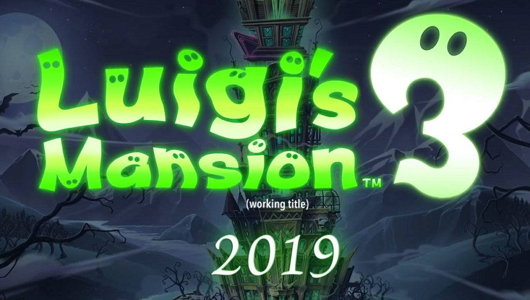 Luigi's Mansion 3 Has Been Announced