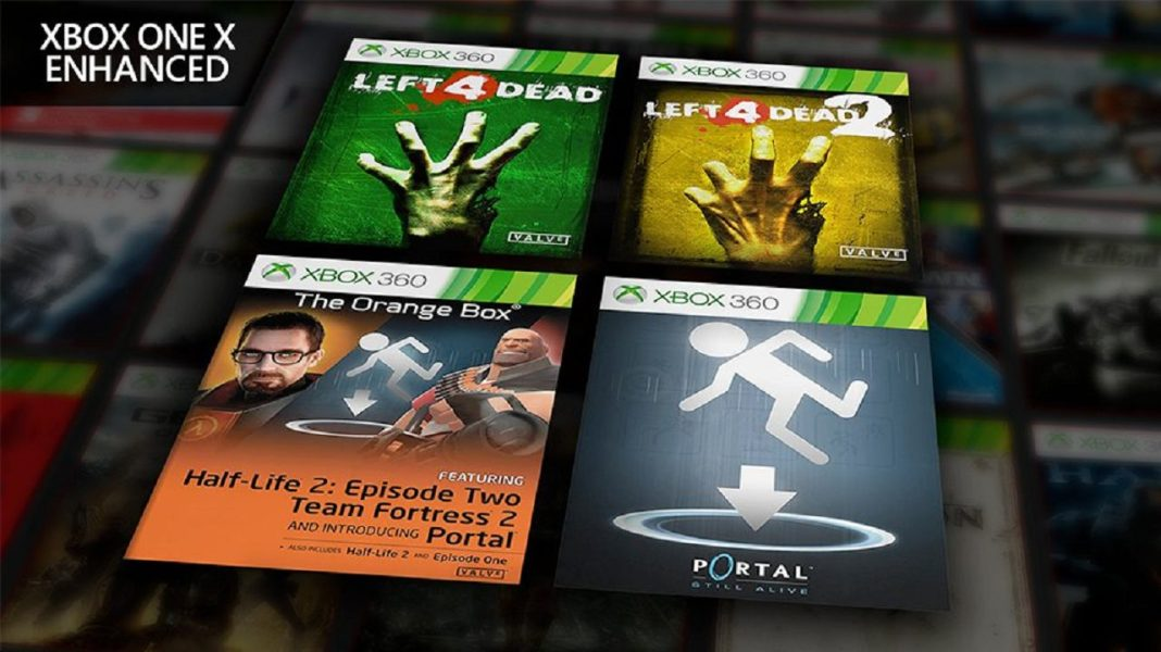 Four Valve Xbox 360 Games Are Now Xbox One X Enhanced