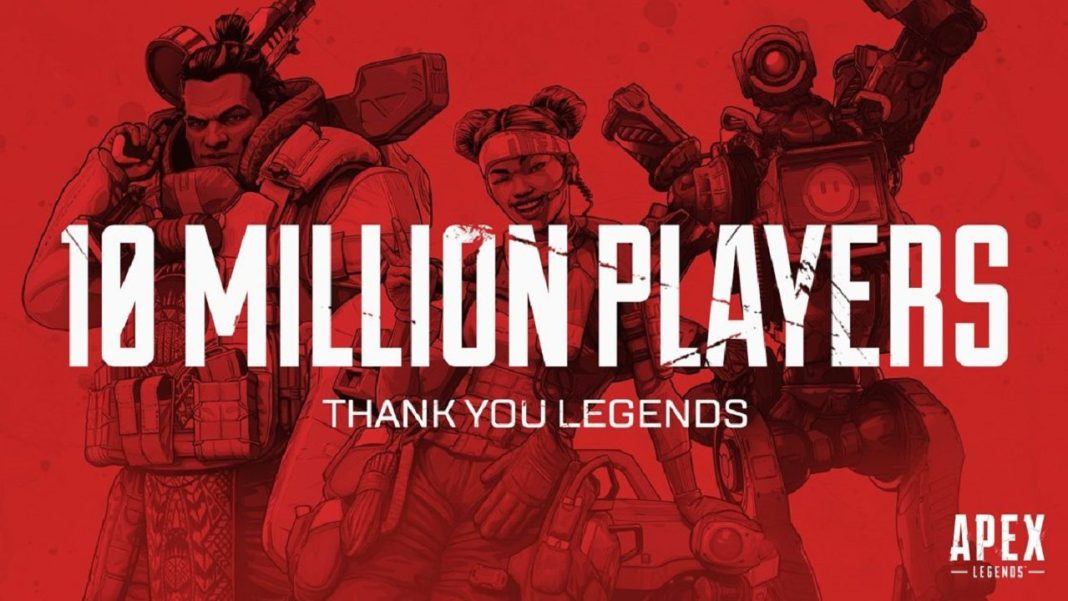 Apex Legends Has Crossed 10 Million Players