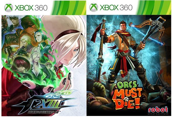 King Of Fighters XIII and Orcs Must Die! Are Now Backward Compatible