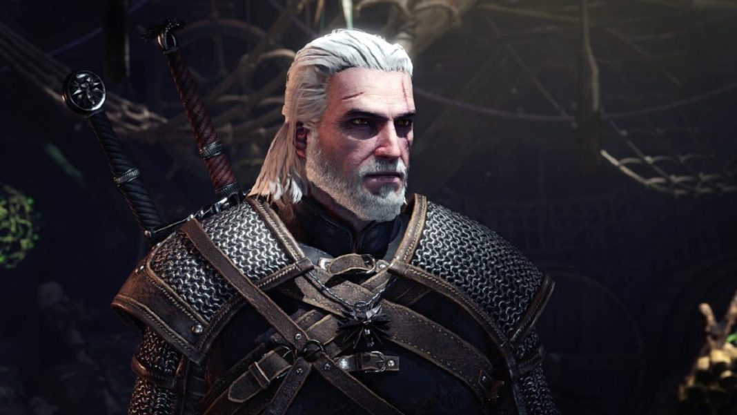 Geralt Comes To Monster Hunter: World Today