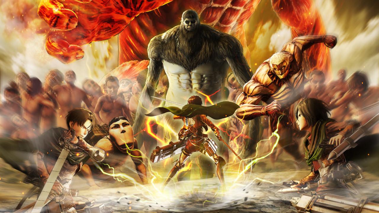 Game Attack On Titan 2 : Final Battle akan Rilis 5 Juli 2019