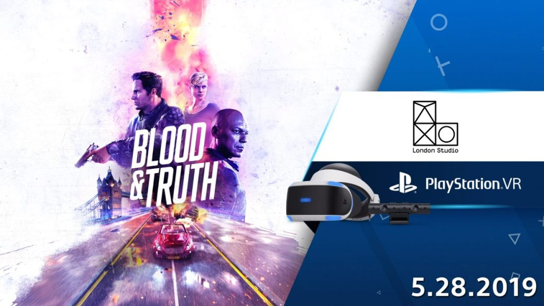 Blood and Truth Releases on May 28th